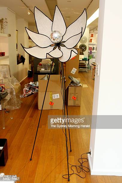 Super Shopper in Potts Point A lamp shaped as a lotus flower available at Macleay on Manning 85 Macleay Street Potts Point 3 August 2006 SMH DOMAIN...