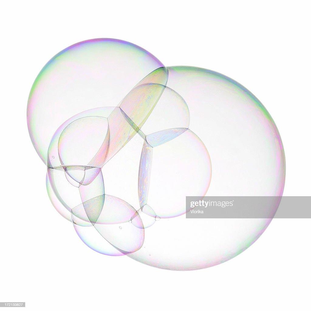 Super soap bubble