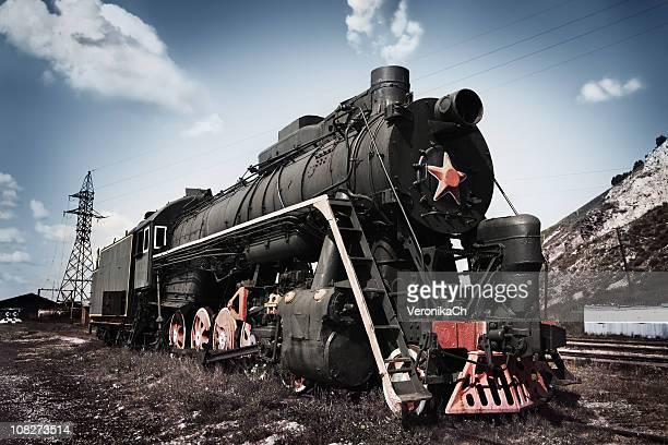 スーパー蒸気機関車。