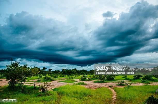 Super storm during rainy season