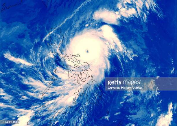 Super Typhoon Angela about to made landfall at the Philippines with 260km/h winds 1995 Typhoon Angela known in the Philippines as Typhoon Rosing was...