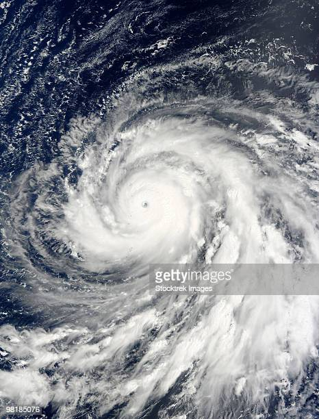 Super Typhoon Choi-wan over the Mariana Islands.