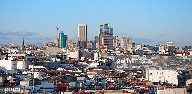 Superb Madrid skyline