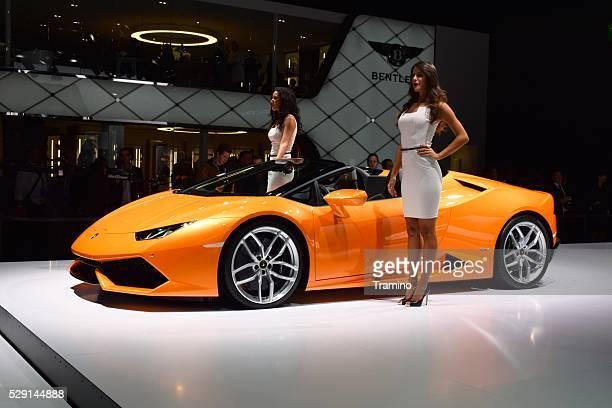 Supercar Lamborghini Huracan LP 610 4 Spyder