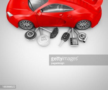 supercar pocketknife : Foto stock