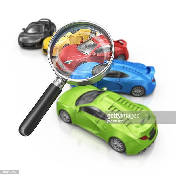 supercars and loupe