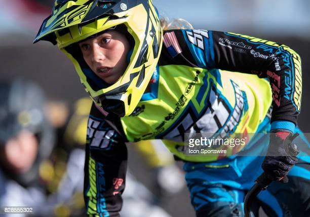 Supercross BMX's Annabella Hammonds took the win in the 12 Girls class and second in the 1112 Mixed Open at the USA BMX Mile High Nationals on August...