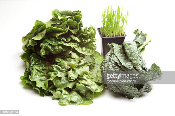 superfood organic natural vegetable greens