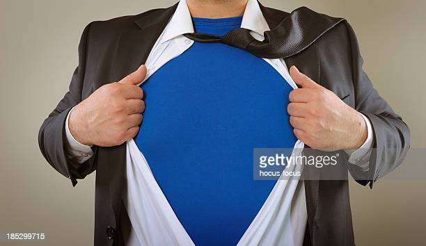 Superhelden-business person