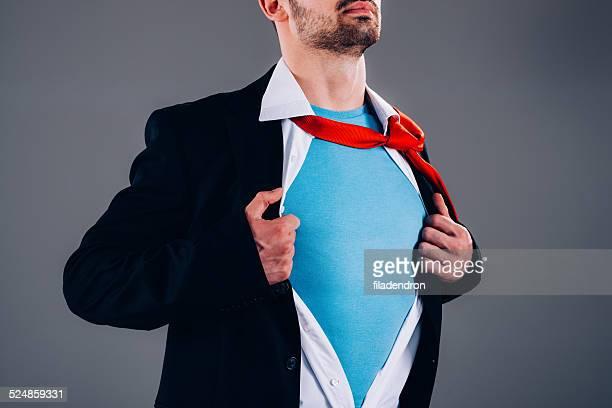 Superhelden-Geschäftsmann