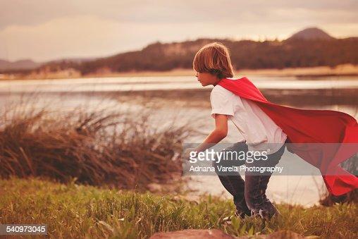 Superhero : Stock Photo
