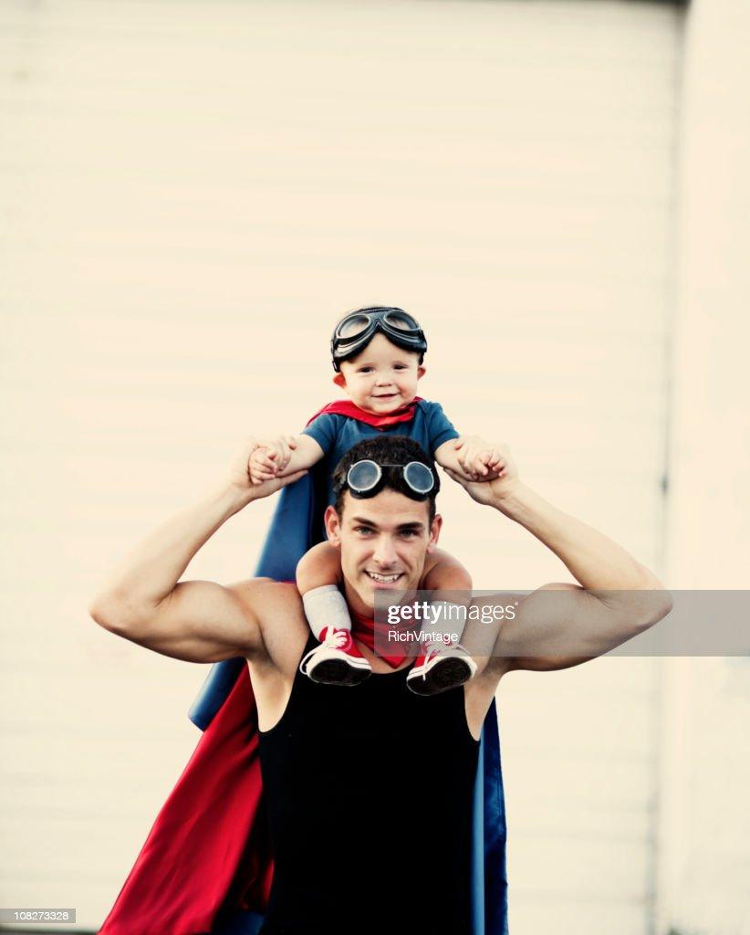 Superhero Toddler