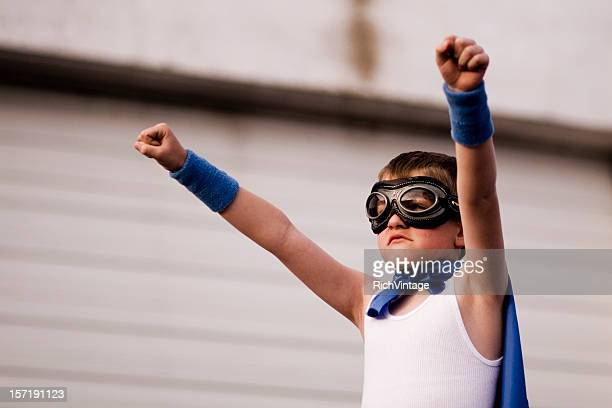 Superhero Victory