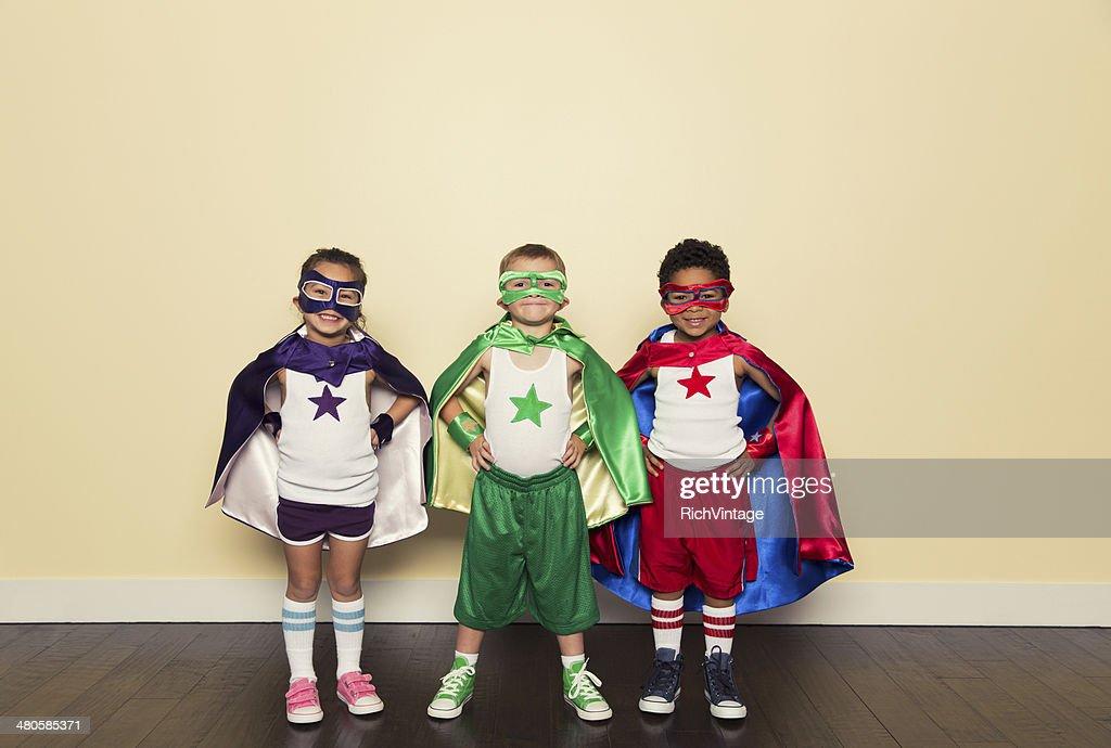 Superheroes : Stock Photo