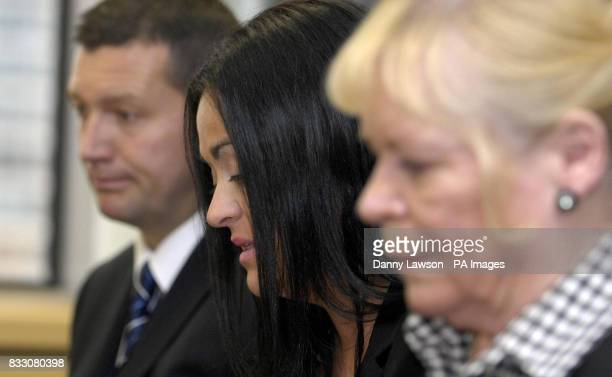 Superintendent Jim McKechnie Angela Best and Mabel Best wife and mother of murder victim Andrew Best during a press conference at Strathclyde Police...