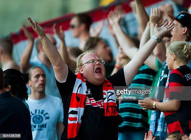 Superliga AC Horsens vs FC Midtjylland FC Midtjylland fans © Lars Ronbog Frontzonesportdk