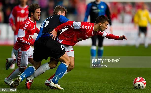 Superliga Azer Busuladzic VB Vejle Boldklub Nicolaj Madsen HB Køge Lars Rønbøg / Viasatdivisionen