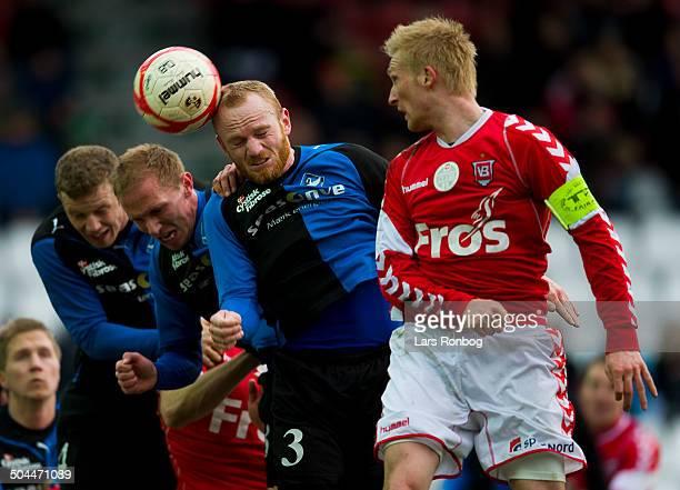 Superliga Steffen Kielstrup VB Vejle Boldklub Lasse Kronborg HB Køge Lars Rønbøg / Viasatdivisionen
