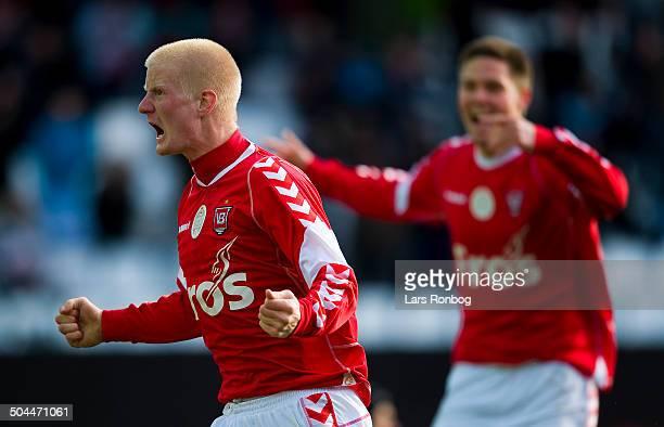 Superliga Thomas Mikkelsen VB Vejle Boldklub Lars Rønbøg / Viasatdivisionen