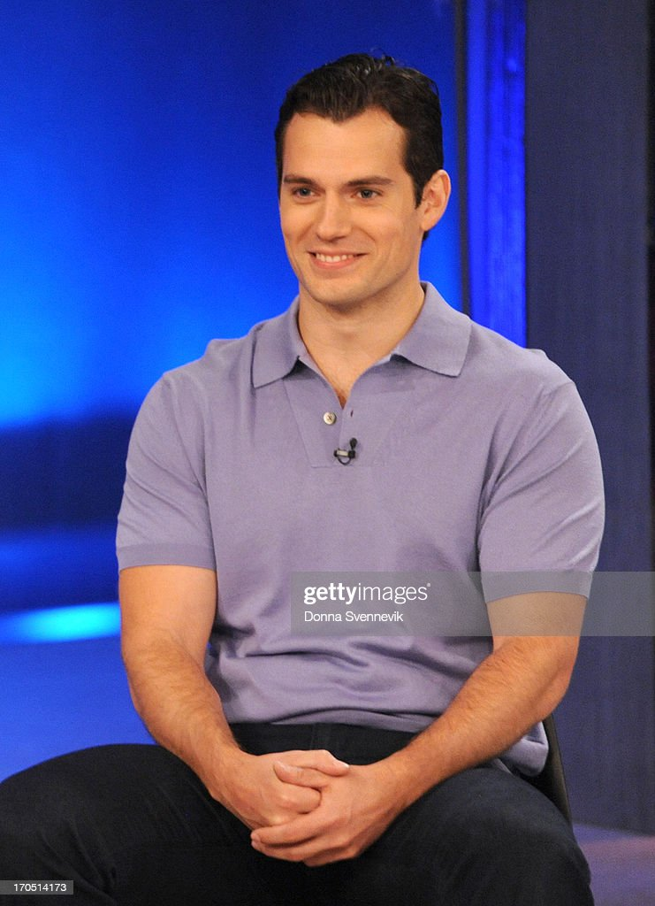 KATIE - 6/13/13 - Superman and the cast of 'Man of Steel' are guests on KATIE, distributed by Disney-ABC Domestic Television. (Photo by Donna Svennevik/Disney-ABC via Getty Images) HENRY