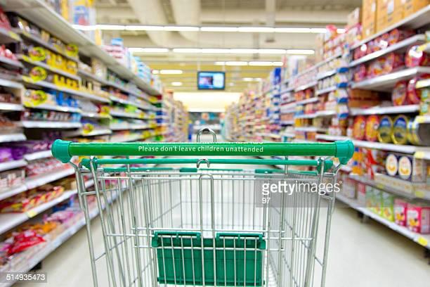 スーパーマーケットカート