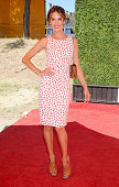 Supermodel Alessandra Ambrosio arrives at the Veuve Clicquot Polo Classic at Will Rogers State Historic Park on October 5 2013 in Pacific Palisades...