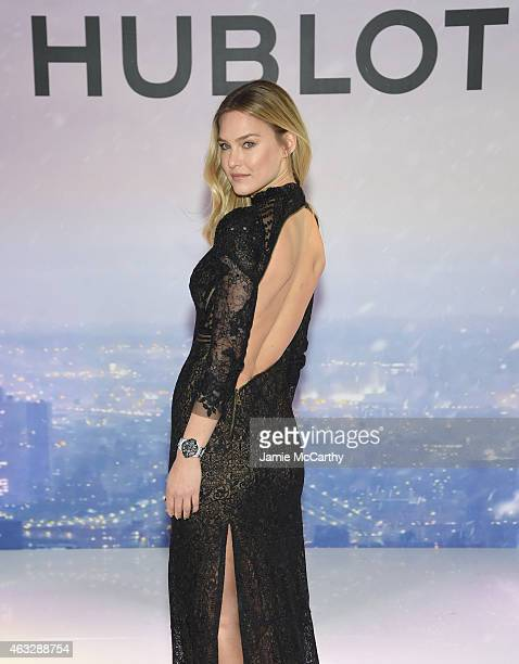 Supermodel Bar Refaeli is announced as newest Brand Ambassador at Hublot Boutique on February 12 2015 in New York City