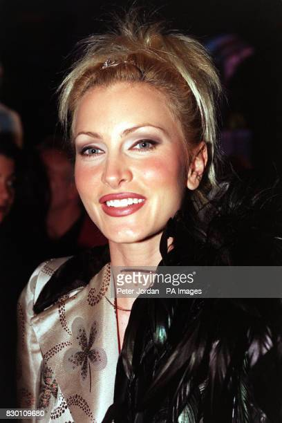 Supermodel Caprice Bourret at the launch party for the opening of Geneva jewellers De Grisogono's London store 22/12/98 Caprice was rumoured to be...