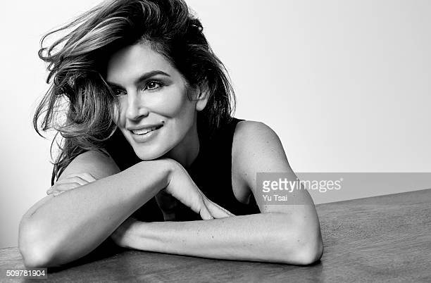 Supermodel Cindy Crawford is photographed for Rhapsody Magazine on November 3 2015 in Los Angeles California PUBLISHED IMAGE