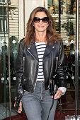 Celebrity Sightings In Paris - September 25, 2018