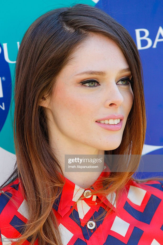 Supermodel Coco Rocha hosts the Banana Republic Mad Men Spring 2013 Mod Pod at Banana Republic at The Grove on February 26, 2013 in Los Angeles, California.