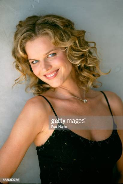 Supermodel Eva Herzigova will be a host in a BBC TV show about the 90's Her segment was filmed in a Hollywood Hills Home June 23 2001 Hollywood Los...