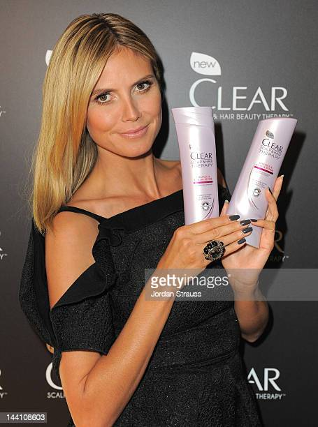 Supermodel Heidi Klum is unveiled as the face and hair of CLEAR SCALP HAIR BEAUTY THERAPY a premium new line of shampoos and conditioners that...