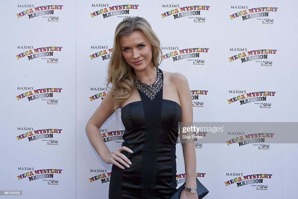Supermodel <a gi-track='captionPersonalityLinkClicked' href=/galleries/search?phrase=Joanna+Krupa&family=editorial&specificpeople=224038 ng-click='$event.stopPropagation()'>Joanna Krupa</a> attends Maxim's Mega Mansion at Buckner Mansion on February 15, 2010 in New Orleans, Louisiana.