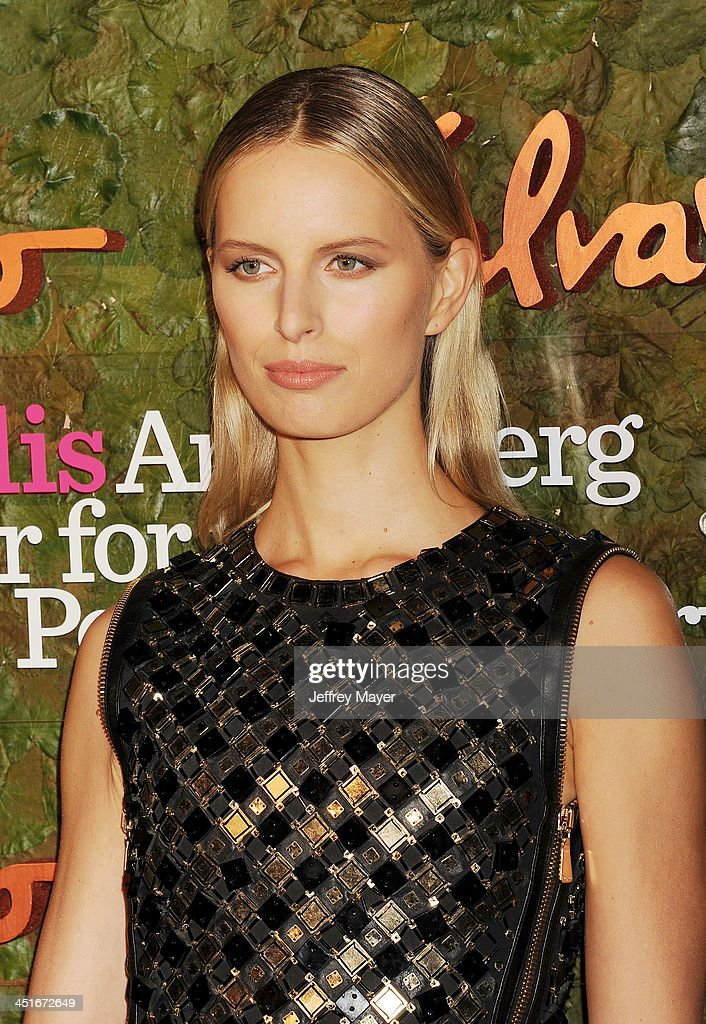 Supermodel Karolina Kurkova arrives at the Wallis Annenberg Center For The Performing Arts Inaugural Gala at Wallis Annenberg Center for the Performing Arts on October 17, 2013 in Beverly Hills, California.