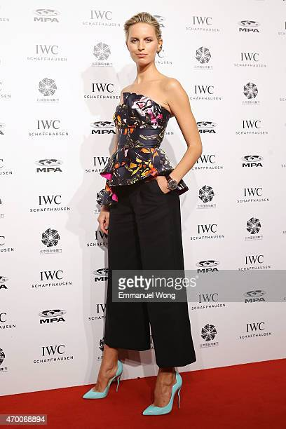 Supermodel Karolina Kurkova attends the IWC ''For the Love of Cinema'' Filmmakers Dinner at the Beijing International Film Festival 2015 on April 17...