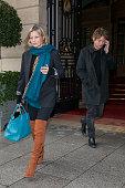 Kate Moss And Nikolai Von Bismarck Sighting in Paris  -...