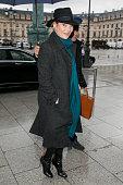 Celebrity Sightings In Paris -  January 18