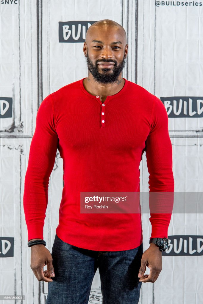 Supermodel Tyson Beckford discusses his residency at Chippendales In Las Vegas with the Build Seris at Build Studio on March 21, 2017 in New York City.