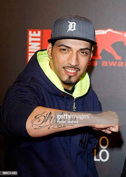 Superstar 2010 Mehrzad Marashi attends the 'new faces award 2010' at cafe Moskau on April 22 2010 in Berlin Germany