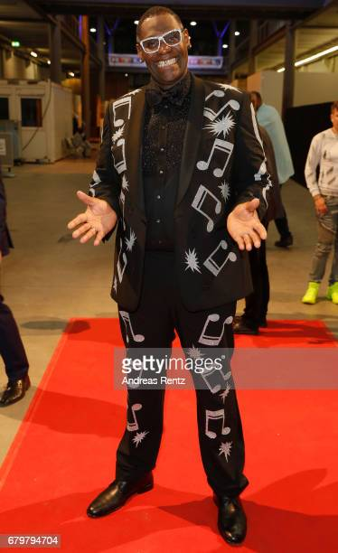 'Superstar 2017' Alphonso Williams attends the after show during the finals of the tv competition 'Deutschland sucht den Superstar' at Coloneum on...