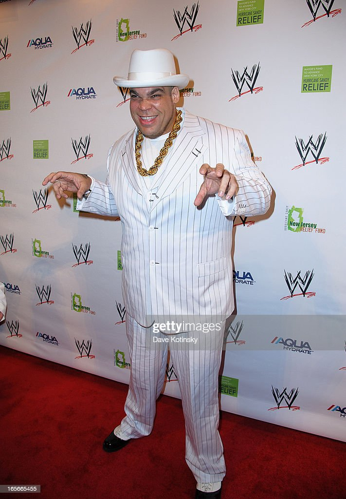 Superstar Brodus Clay attends the Superstars For Sandy Relief at Cipriani Wall Street on April 4, 2013 in New York City.
