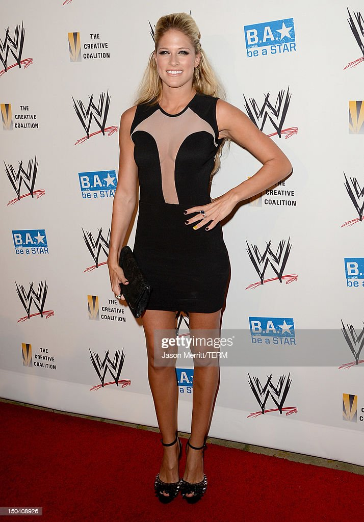 Superstar Kelly Kelly attends the WWE SummerSlam VIP Kick-Off Party at Beverly Hills Hotel on August 16, 2012 in Beverly Hills, California.