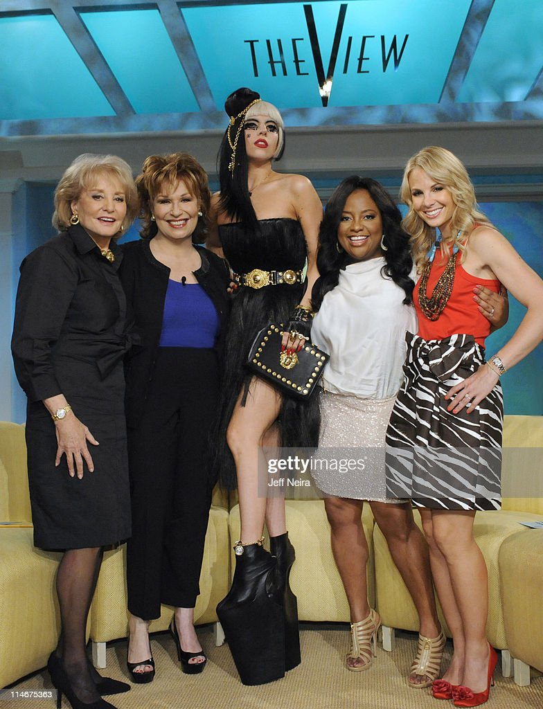 THE VIEW - (5.23.11) Superstar Lady Gaga appeared today on 'The View.' 'The View' airs Monday-Friday (11:00 am-12:00 pm, ET) on the ABC Television Network. (Photo by Jeff Neira/ABC via Getty Images)BARBARA