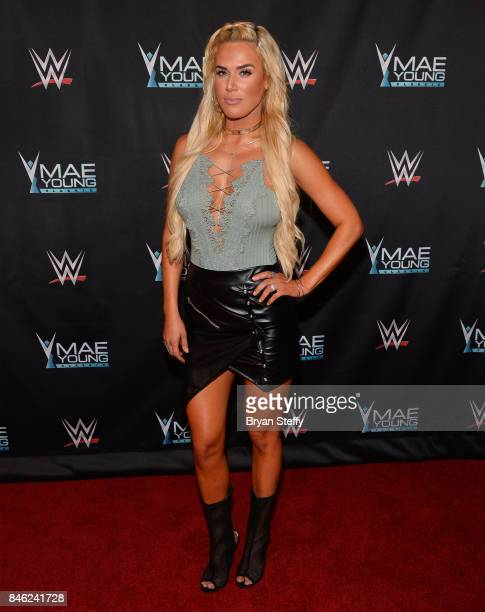Superstar Lana appears on the red carpet of the WWE Mae Young Classic on September 12 2017 in Las Vegas Nevada
