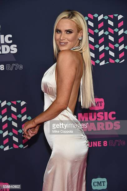Superstar Lana attends the 2016 CMT Music awards at the Bridgestone Arena on June 8 2016 in Nashville Tennessee