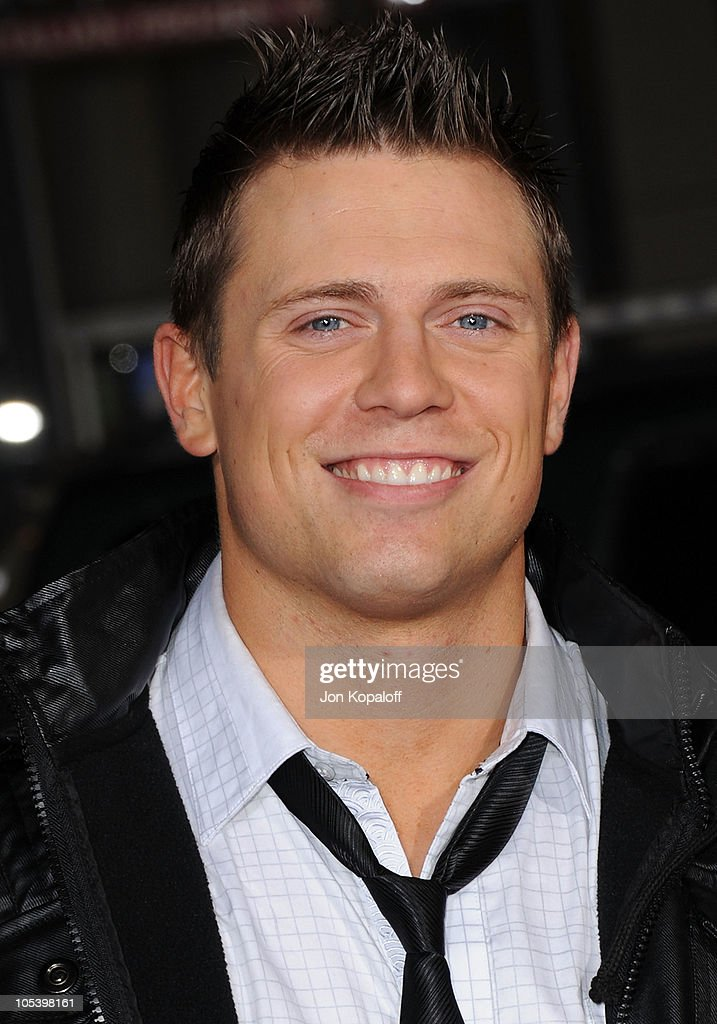 Superstar Mike 'The Miz' Mizanin arrives at the Los Angeles Premiere 'Jackass 3D' at Grauman's Chinese Theatre on October 13, 2010 in Hollywood, California.