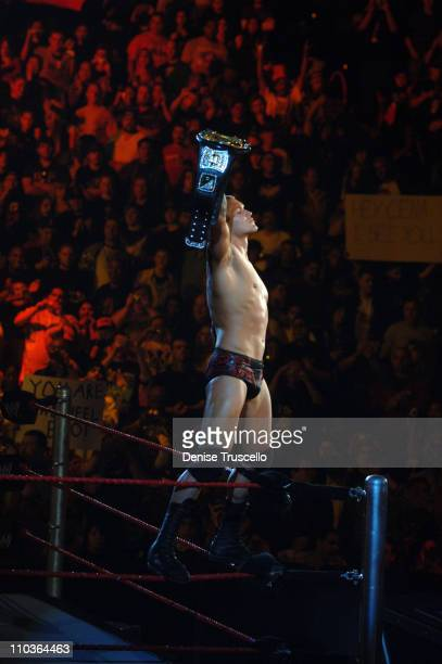 WWE Superstar Randy Orton at No Way Out at The Thomas and Mack Center on February 17 2008 in Las Vegas Nevada