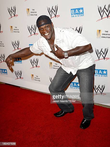 Superstar RTruth attends the WWE SummerSlam VIP KickOff Party at Beverly Hills Hotel on August 16 2012 in Beverly Hills California