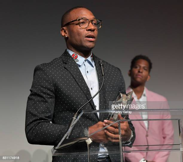 Superstar Storyteller Award winner Ben Cory Jones attends AIDS Healthcare Foundation iNHale Entertainment Partner To Host 'INside | OUTside...